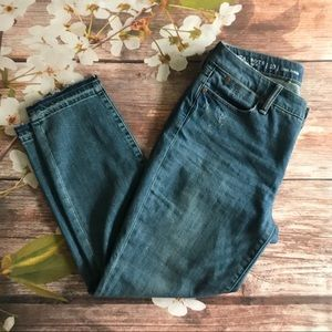 Talbots Flawless Thin Ankle Distressed Release Hem